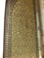 Door panel at Bibi ka maqbara