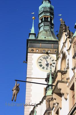 hanging man of Olomouc