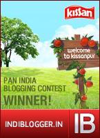 Kissan Nature's Friends IndiBlogger Contest Winner