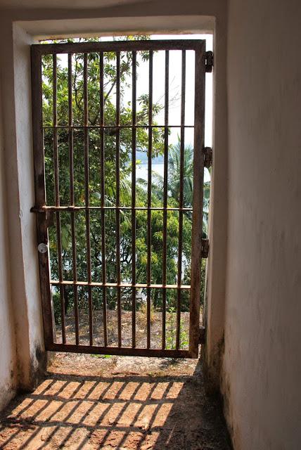 Reis Magos Fort, Goa, prison