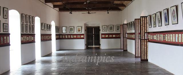 Reis Magos Fort, Goa Mario Miranda's art museum
