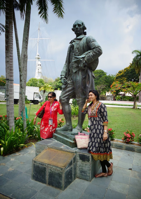 Captain Francis Light, Fort Cornwallis, Penang
