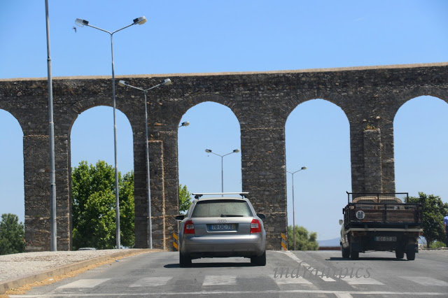 Evora Aqueduct, Portugal