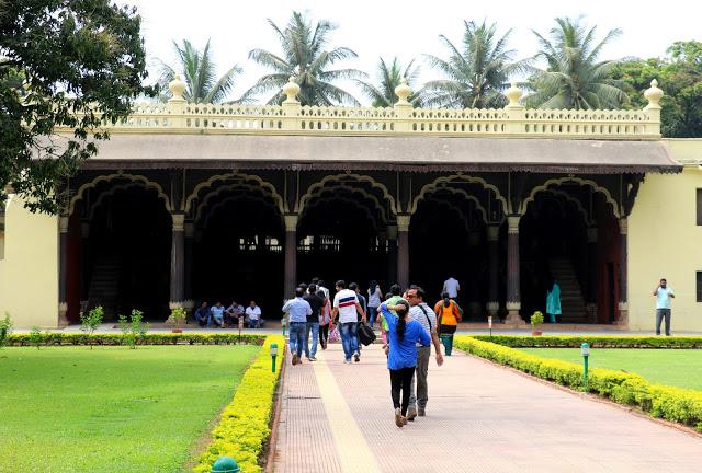 Tipu's Summer Palace facade