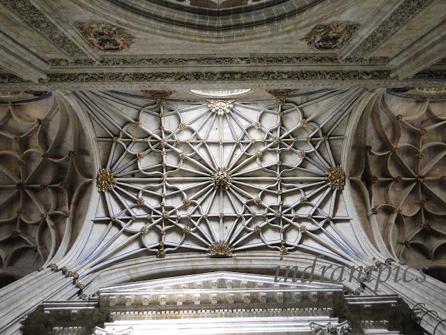 Interiors of New Cathedral Salamanca