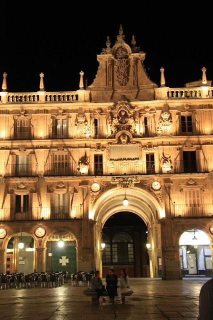 Plaza Mayor Salamanca Royal Pavilion