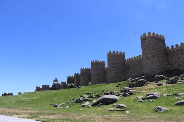 Walls of Avila, Spain 3