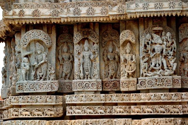 Lakshminarasimha Temple Javagal exteriors