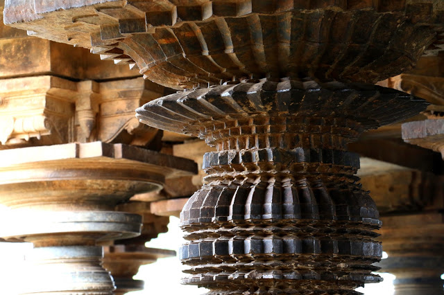 Veeranarayana Temple Pillar