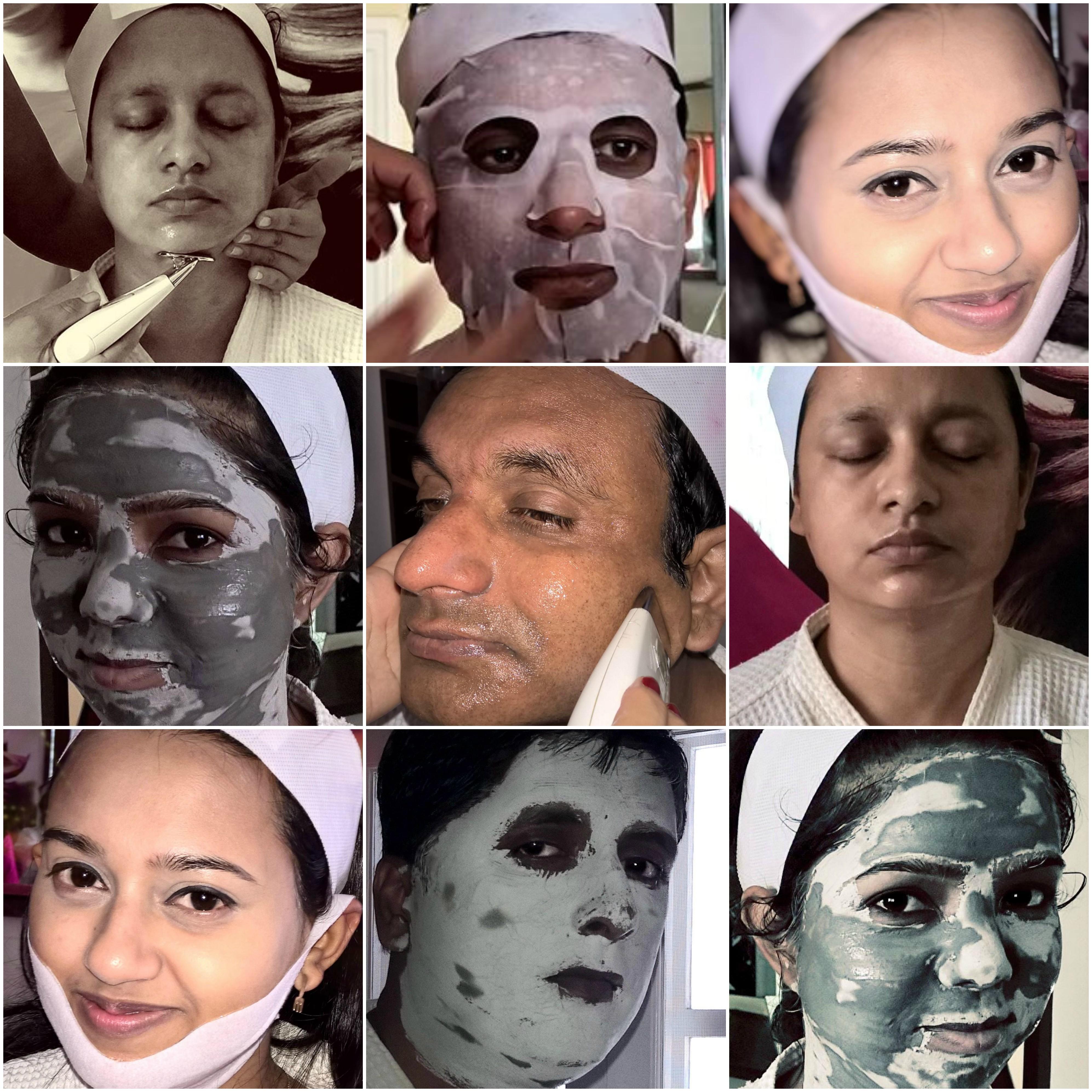faces Collage Ema Spa