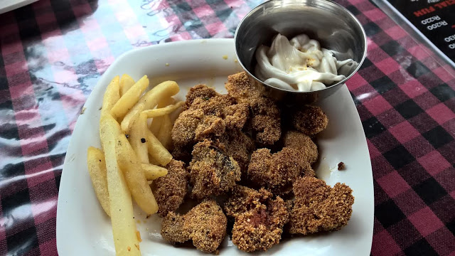 Earthen Pot mushroom rava fry1 Must visit Goa restaurants