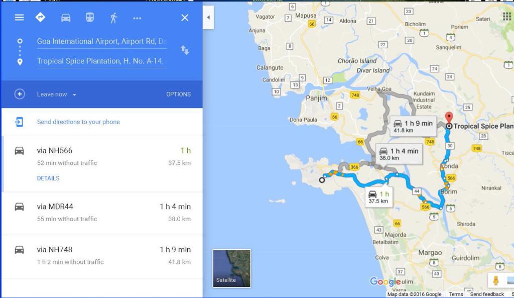 map goa