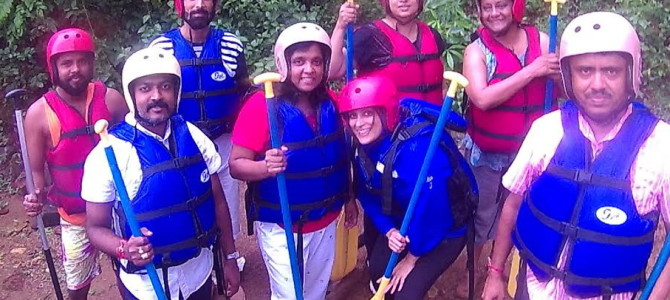 White Water River Rafting in Goa, my Experience