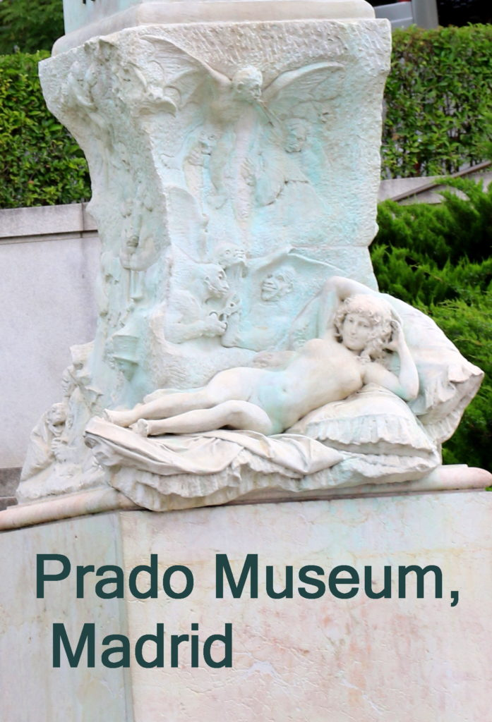 The Nude Maja Statue at Prada Museum
