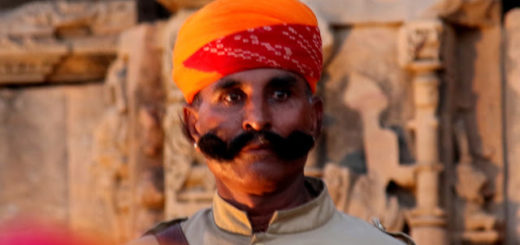 A Guard at Kiradu Temple, Barmer