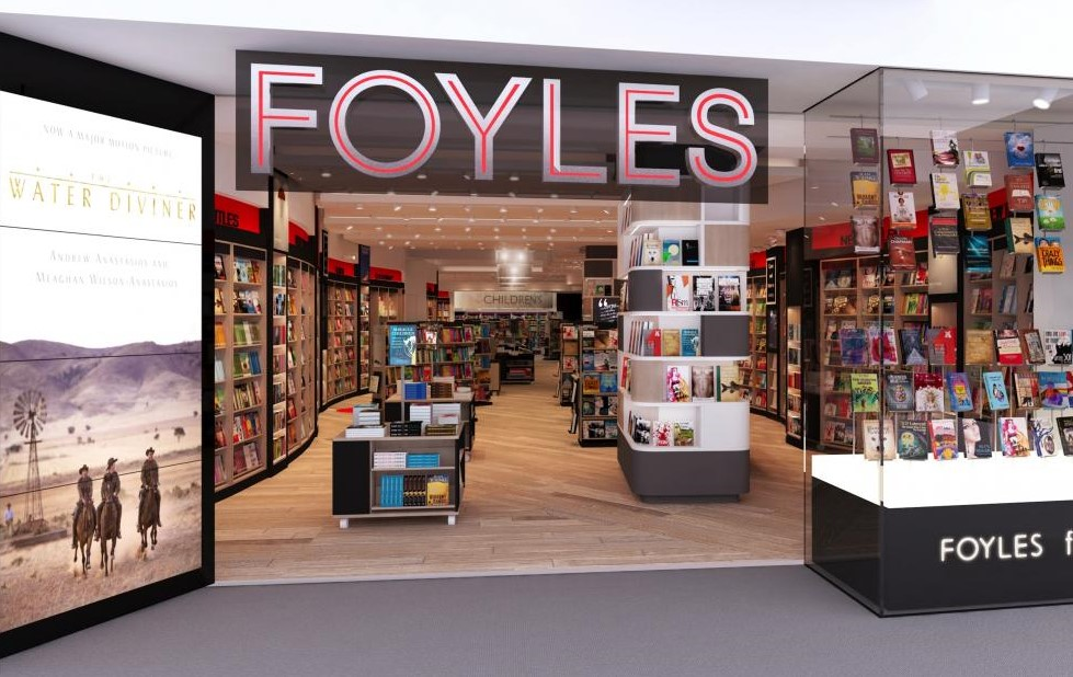 London for Shopping at Foyles
