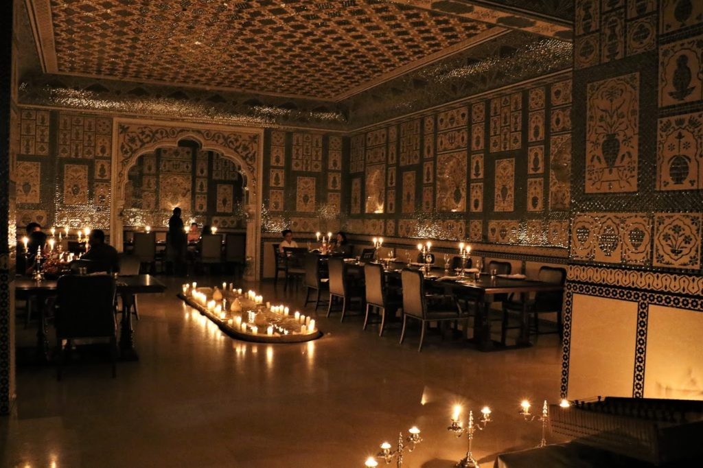 Mohan Mahal Interiors Experiential Dining in JW Marriott Jaipur
