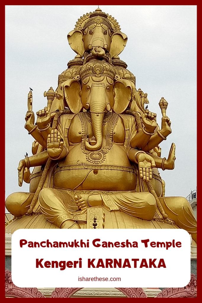 Panchamukhi Ganesha Temple Kengeri Karnataka India