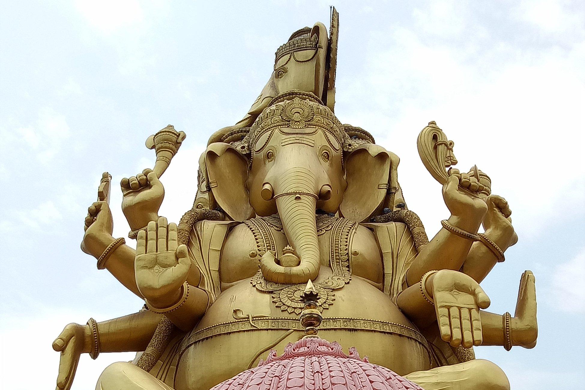 Panchamukhi Ganesha Temple north