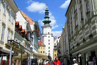 St. Michael's Gate - the Last Preserved Gate of Bratislava
