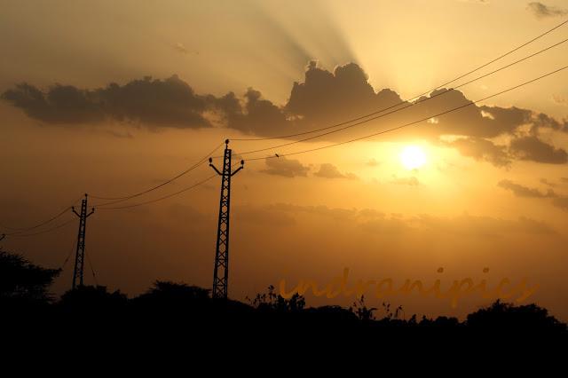 Sunset in Jaisalmer 2016