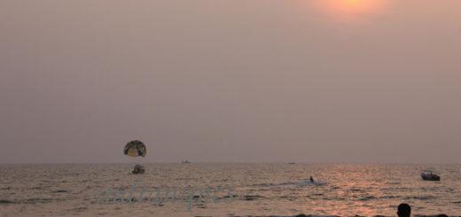 sunset-at-candolim-beach