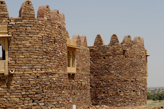 Walls of Khaba Fort